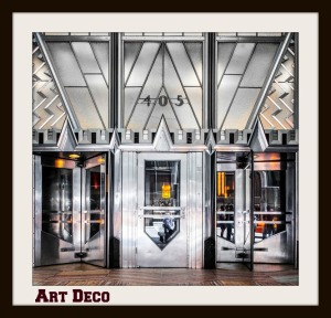High Deco -- the Lexington Avenue entrance to the Chrysler Building